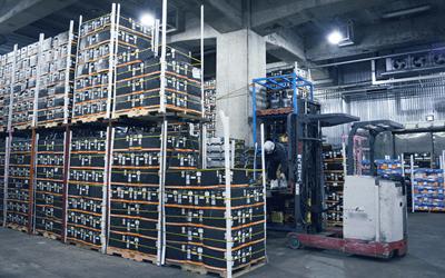 Fixed temperature warehouse