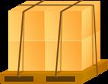 パレット梱包